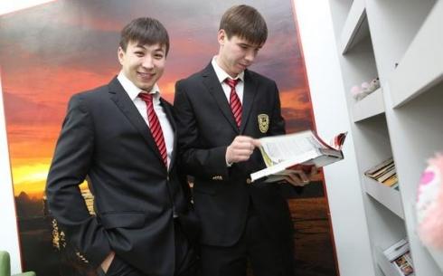 «Шахтер» посетил Назарбаев интеллектуальную школу