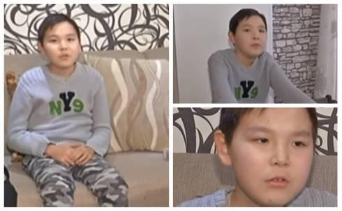 12-летний карагандинец ходит только на четвереньках: ему нужна помощь