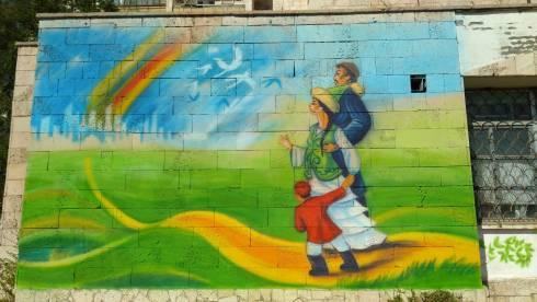 Символы Независимости: в Карагандинской области подвели итоги конкурса граффити