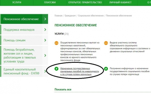Карагандинцы могут оформить услугу по получению социального пособия через портал egov.kz