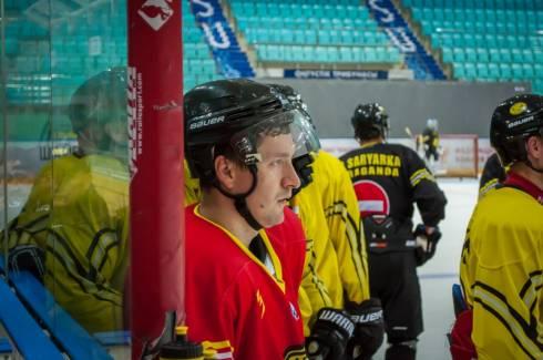 Фоторепортаж с первой тренировки «Сарыарки» на льду