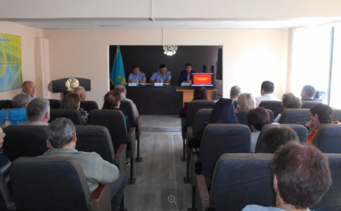 Полицейские Карагандинской области объединяются с горожанами для противодействия с правонарушениями