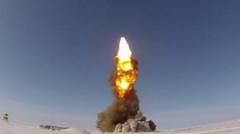 Испытательный пуск ракеты российской системы ПРО провели в Сары-Шагане