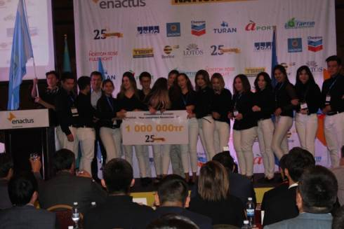 Инновационная теплица и печенье из жента: Названы победители конкурса среди студентов Enactus Kazakhstan
