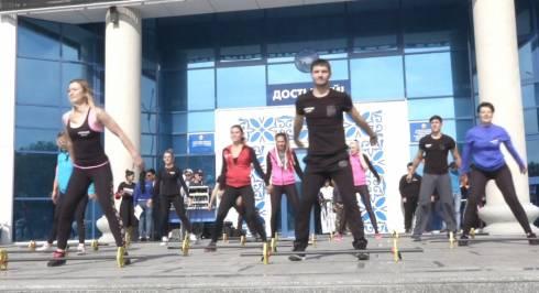 Три тысячи человек собрал фестиваль здоровья в Караганде