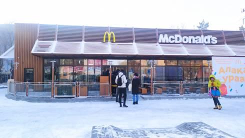 В Караганде на 45 квартале открылся первый McDonald's