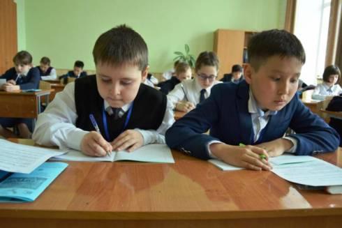 В Караганде прошел XVIII городской интеллектуальный марафон для младших школьников «Команда года – 2019»