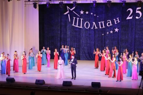 25-летие отметил образцовый хореографический ансамбль «Шолпан»