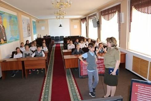 В Кризисном центре ДЧС Карагандинской области проведен интерактивный урок