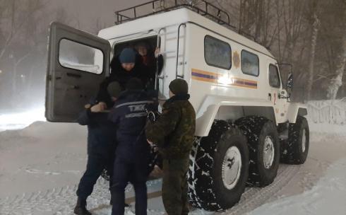 111 человек спасено на дорогах Карагандинской области в метель