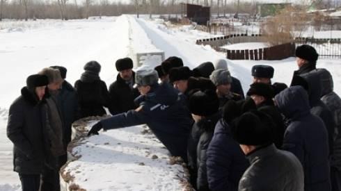 Спасатели обучают сельских чиновников противопаводковым мероприятиям