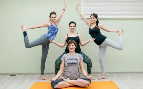 В Караганде открылась первая «Yoga studio»