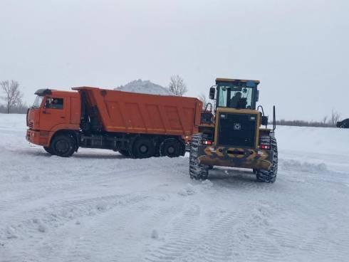 В селе Садовое Карагандинской области началась подготовка к паводкам
