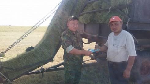 В Осакаровском районе проведены профилактические беседы с сельхоз работниками