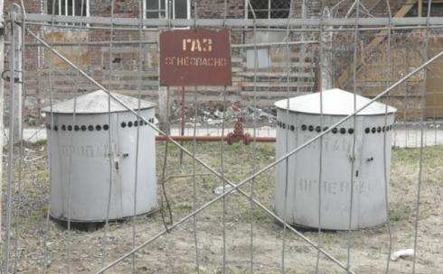 В Караганде демонтируют газораспределительные установки