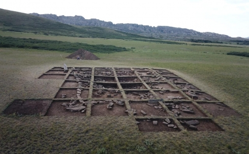 В Карагандинской области ведутся раскопки крупного поселения Аккезен