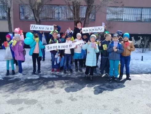 В Шахтинске проходит городская экологическая акция «Войди в природу другом!»