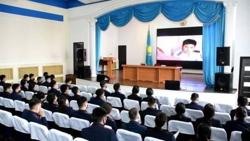 В ДП Карагандинской области прошел урок мужества