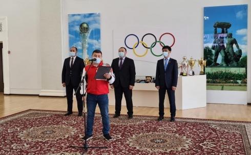 В Караганде состоялось открытие областной онлайн-спартакиады «Saryarka»