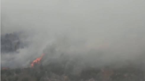 Военнослужащие прибыли в зону пожара в Карагандинской области