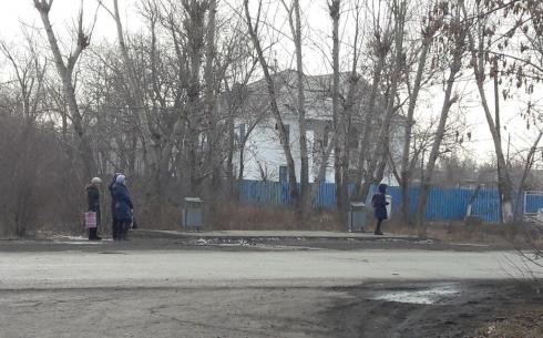 В Караганде жители района Медсанчасти жалуются на чудесное исчезновение остановочного павильона