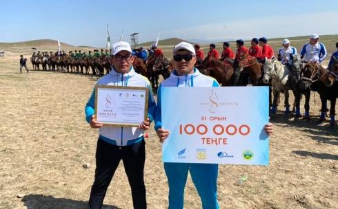 Команда Карагандинской области заняла 3 место на республиканских соревнованиях по кокпар