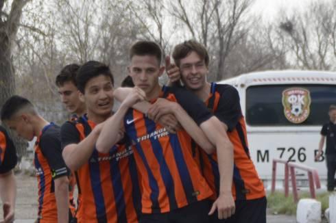 Молодежная команда «Шахтера» одержала победу над сверстниками из «Ордабасы»