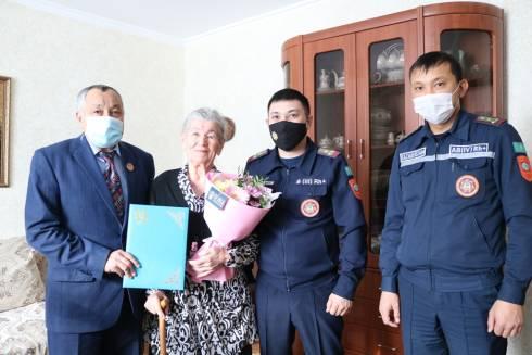 90 лет исполнилось заслуженному ветерану противопожарной службы