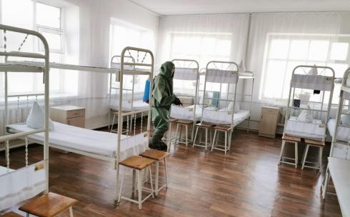 Дезинфекцию проводят в исправительных учреждениях Карагандинской области