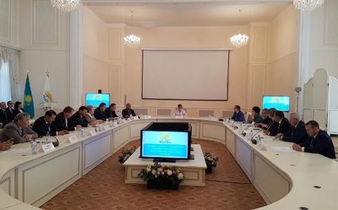 В Караганде состоялось заседание Политсовета филиала партии «Нұр Отан»