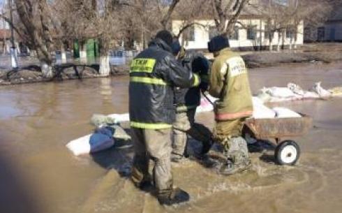 В Карагандинской области в бассейне реки Сарысу сохраняется сложная гидрологическая обстановка