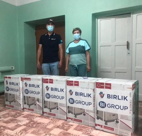 В Центральную больницу Шахтинска поступила медицинская помощь от спонсоров