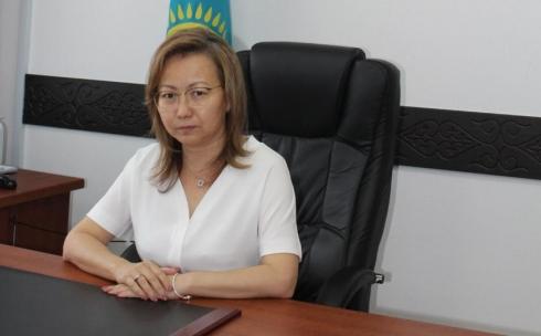 В Департаменте Агентства по делам государственной службы по Карагандинской области новый руководитель