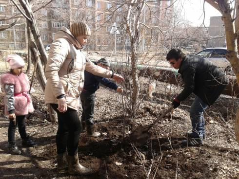 Всеказахстанский День посадки леса