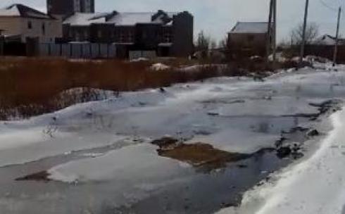 В Караганде начали устранять крупную водопроводную аварию