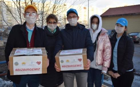 В Карагандинской области стартовала единая республиканская акция «Біз біргеміз! «Nur Otan»