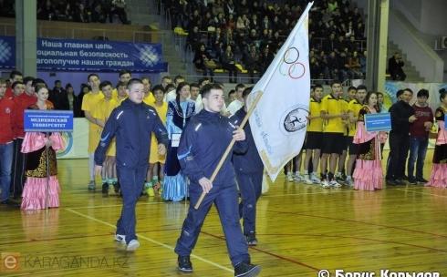 Завершилась IX областная студенческая спартакиада в Караганде