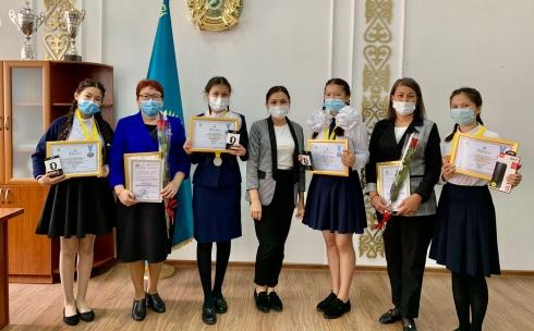 Встреча с победителями Абайских чтений прошла в Карагандинской области
