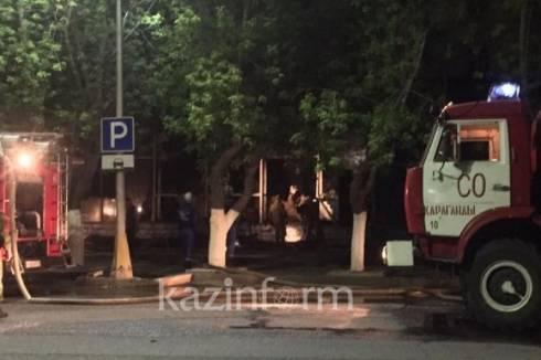 Названа причина пожара в торговом доме «1000 мелочей» в Караганде