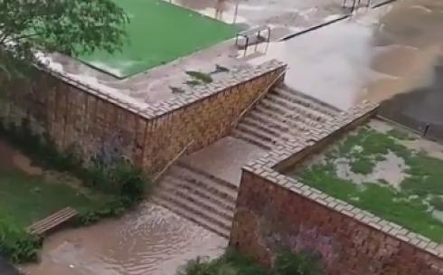 После дождей Караганда утопает в воде