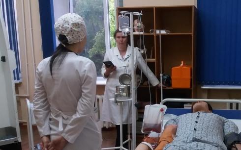 В медицинском университете Караганды проходит независимая оценка знаний выпускников