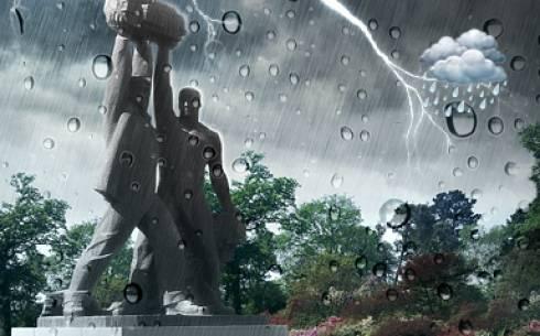 В Караганде сегодня будет дождь