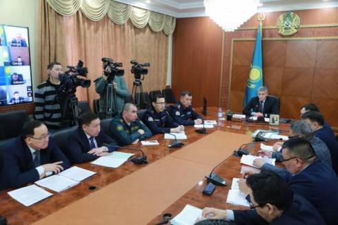 Подготовку к паводкам обсудили на заседании областного штаба