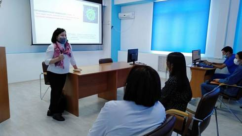 Специалисты Карагандинского медицинского университета обучают коллег практического звена