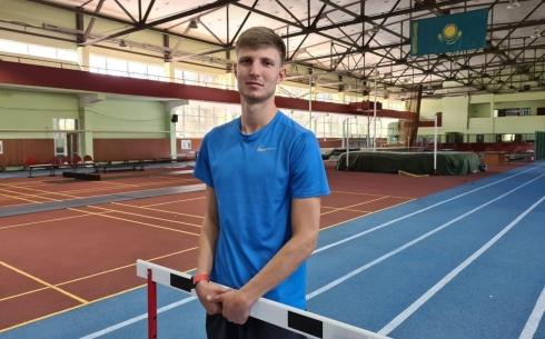 Карагандинский легкоатлет Давид Ефремов установил национальный рекорд