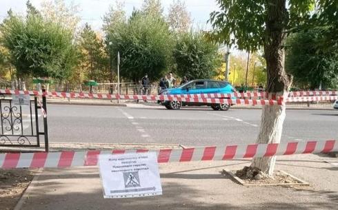 В Караганде перенесли пешеходный переход по улице Ермекова