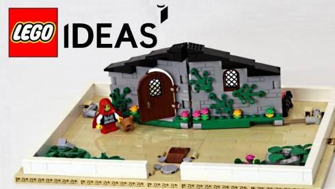 Фанатская книжка-раскладушка из кубиков Lego станет серийным конструктором
