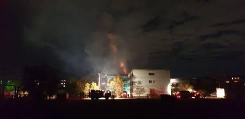 В Караганде горела школа
