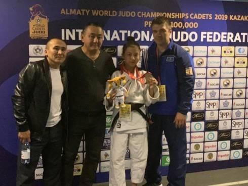 Карагандинка завоевала бронзу на чемпионате мира по дзюдо среди кадетов