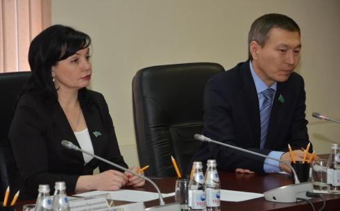 В ДВД Карагандинской области прошла встреча с депутатом Мажилиса